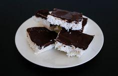 Sukkerfri bounty-kake Desserts, Food, Blogging, Tailgate Desserts, Deserts, Essen, Postres, Meals, Dessert