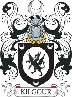Kilgour Family Crest and Coat of Arms