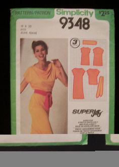Items similar to Simplicity Pattern Misses Super Jiffy Pull-over Dress or Top and Belt - Size 18 -UNCUT on Etsy Patron Simplicity, Simplicity Patterns, Vintage Sewing Patterns, Fabric Patterns, Trending Outfits, Handmade Gifts, House, Etsy, Kid Craft Gifts
