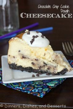 Cheesecake........with chocolate chips