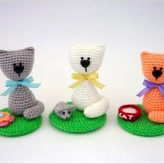cat amigurumi crochet pattern