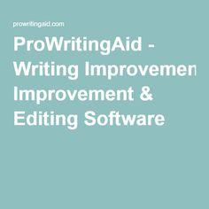 ProWritingAid - Writing Improvement & Editing Software