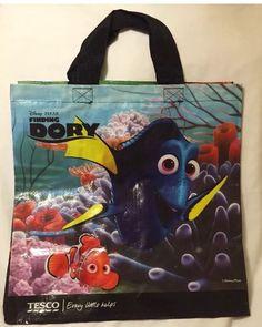 83f28d7347 Tesco Finding Dory Tote Bag Nemo Disney Pixar Fish Eco Gift New