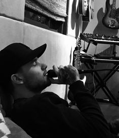 Liam posted this. I guess he is making new music and I am really excited about it