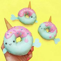 Narwhal donuts