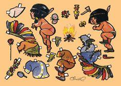Kort - PD Christels små indianerbørn