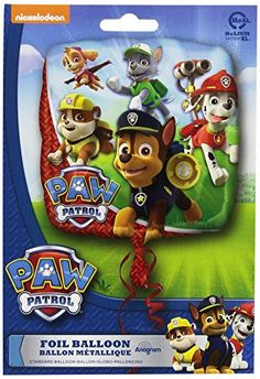 Anagram International HX Paw Patrol Packaged Party Balloons, Multicolor