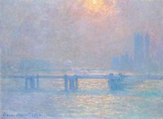 Charing Cross Bridge, The Thames Claude Monet Fecha: 1903 Estilo: Impresionismo Serie: Charing Cross Bridge Género: paisaje urbano Claude Monet, Jean Antoine Watteau, Artist Monet, Art Parisien, Monet Paintings, Famous Artists Paintings, Acrylic Paintings, Painting Frames, Art Japonais
