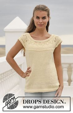 Ravelry: 152-9 Sunny Side pattern by DROPS design