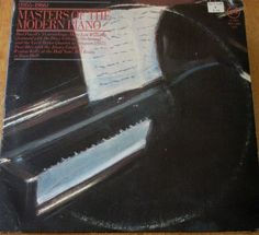"""Masters Of The Modern Piano / Two Promo 12"""" Vinyl LP Records / Verve VE-2-2514 #Jazz #Piano #Albums"""