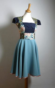 Stunning Spring Swing dress from Enienay
