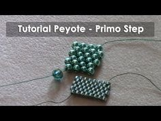 "DIY Tutorial Peyote ""Veloce"" / Fast peyote with English subtitles! - YouTube"