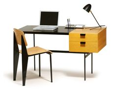 i want this! french modern  F301Desk-1956 Pierre Paulin