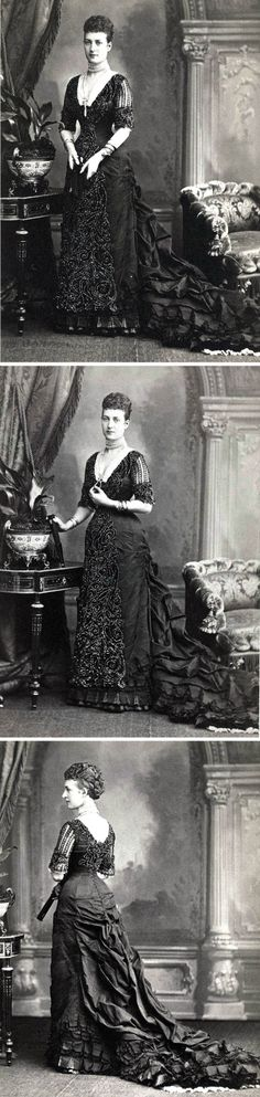 Alexandra, Princess of Wales, in the late 1870s.