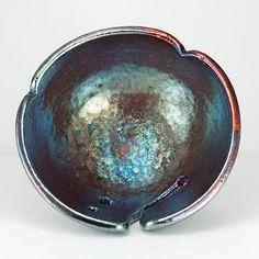 Celadon Green Knitting Bowl Metallic Luster NGANCLANG by CHpottery, $33.00