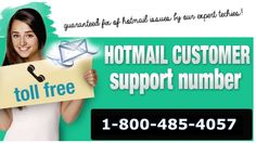 Hotmail Technical Support specialized backing is the best way to dispose of never seen blunders or issues found in the specific web email customer, call for Hotmail issues. Call on our toll free number -1-800-485-4057. Visit on our site:http://hotmailsupport.co/