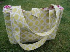 A big bag pattern. Lots of options for different things to hold