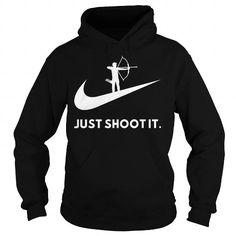 I Love Just Shoot It. T shirts #tee #tshirt #named tshirt #hobbie tshirts # Archery