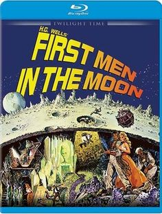 First Men in the Moon - Blu-Ray (Twilight Time Ltd. Region Free) Release Date: March 10, 2015 (Screen Archives Entertainment U.S.)