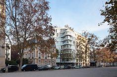 Ensemble immobilier de 14 logements en accession et 24 logements sociaux, Paris, 2015 - ECDM Architectes