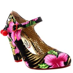 Womens Poetic Licence The Right Stripes Vintage High Heel Court Shoe #CourtShoe #BestPrice: $56.99 Grab NOW! @bestbuy9432