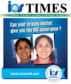 Is your braces doctor, a member of Indian Orthodontic Society ?! For a lifetime of healthy beautiful smile, ensure that it is made better by an Orthodontist endorsed by the Indian Orthodontic Society. Selecting a member of the Indian Orthodontic Society for your orthodontic care is your assurance that the doctor is a person most qualified for the job at hand. #braces #orthodontics #orthodontist