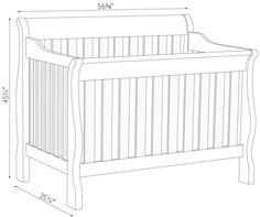 Standard Baby Crib Dimensions 99 Baby Crib Dimensions