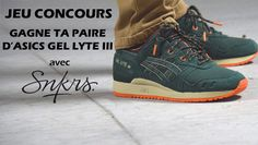[Jeu Concours] gagne ta paire d'Asics Gel Lyte III Outdoor Green avec SNKRS