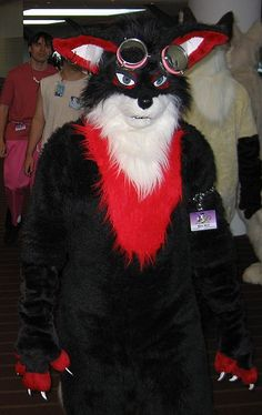 TILT first saw this fursuit at Furry Weekend Atlanta 2005, and in early 2006 was able to acquire it himself when it was auctioned online. Description from en.wikifur.com. I searched for this on bing.com/images