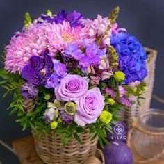 Lilac Flowers, Beautiful Flowers, Cactus Plants, Cacti, Flower Basket, All The Colors, Pink Purple, Planting Flowers, Flower Arrangements