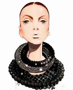 Fashionadictas by Marcela: Custo Barcelona y las ilustraciones de Nuno Da Costa