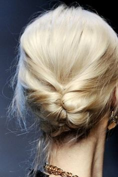Tucked French Braid