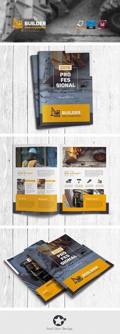 Construction Brochure Templates Brochure Template Brochures And