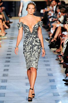 fb1b921c4b30 Fashion Show  Zac Posen Spring Summer 2012 NY Fashion Week