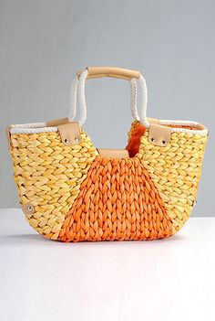 Corn Straw Tote Straw Tote, Plaits, Pocket, Fabric, Leather, Arm, Gifts, Candy