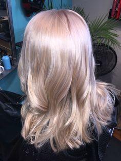 Beautiful blonde with platinum and gold #reneekotyk #urbanhairdesign