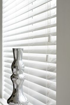 White Gloss Wooden Venetian Blinds