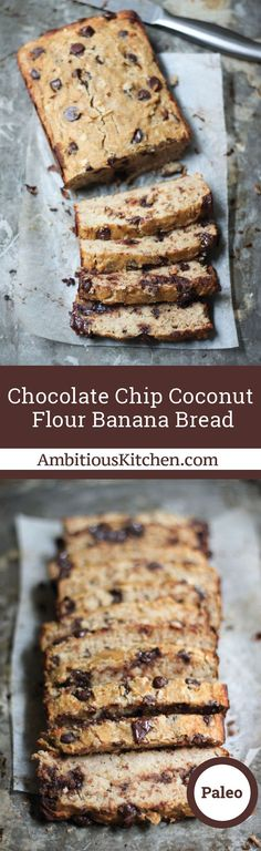 Coconut flour banana bread made without any butter or refined sweeteners. A fun and delicious way to use coconut flour!