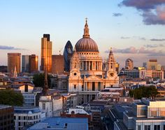 London, England, Europe: achievement reward: When St. Paul's was completed in Sir Christopher Wren became the first Great Fire Of London, The Great Fire, Anglican Cathedral, Renaissance Architecture, London Places, Travel Abroad, London England, Places To See, Travel Inspiration