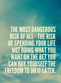 the most dangerous risk of all - Google-Suche