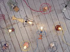 Skeleton Lampshades