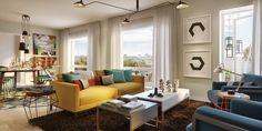 Un apartamento bien aprovechado | Decorar tu casa es facilisimo.com