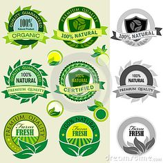Find Organic Products Logos Stickers Labels stock images in HD and millions of other royalty-free stock photos, illustrations and vectors in the Shutterstock collection. Agriculture Logo, Organic Logo, Green Logo, Design Research, Logo Sticker, Sign Design, Clipart, Creative Business, Packaging Design
