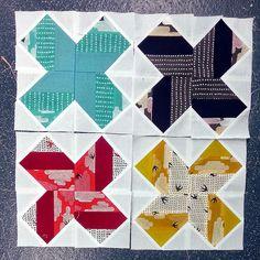 Origami Star 2x2 by sukie80, via Flickr