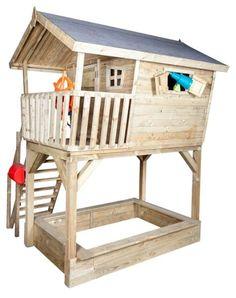 dětský domek, srubový dětský domek, dřevěný dětský domek, dětský zahradní domek, hrací domek pro děti