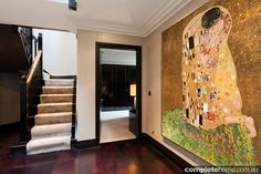 Step into this luxurious country house North Yorkshire. The owners of this house were looking for a modern and edgy look as city apartments and it was exactly Large Scale Art, House Entrance, Decor Interior Design, Townhouse, London, Luxury, Modern, Inspiration, Door Frames