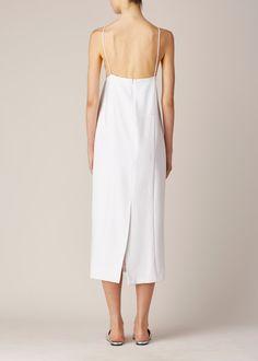 Suzanne Rae Camisole Dress (White)