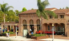 Train station, Downtown Fullerton, CA