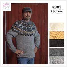43e59b0f RUDY genser - Garnmani.no - Spesialist på islandsk garn