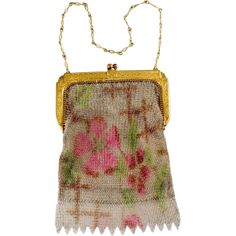 What's So Special About Whiting & Davis Metal Mesh Handbags?: 1920s Whiting & Davis Mesh Purse